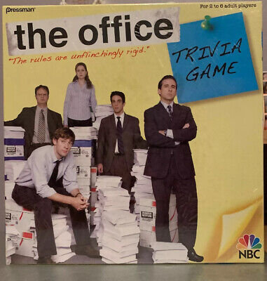 NEW: The Office Trivia Board Game Dunder Mifflin NBC Pressman NEW UNOPENED