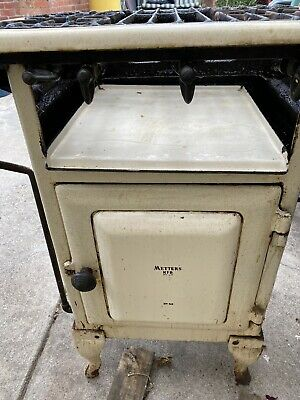 Antique gas pot belly stove/ oven METTERS KFB NO.42