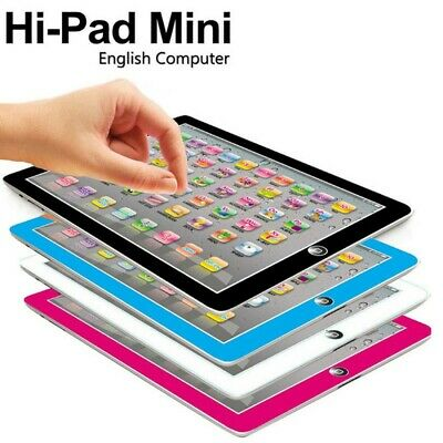 Kids Tablet Pad Computer For Baby Children Learning English Educational Toy Gift