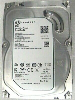 "2Tb Seagate ST2000DM006 Barracuda 3.5"" Hard Drive  SATA 6Gb/s 7200rpm"