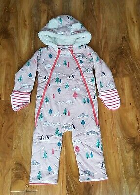 MINI BODEN GIRLS Cosy WARM All-in-one SIZE 2-3 years BRAND NEW