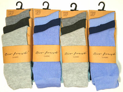 6 New Pairs Men's Business Executive Everyday Socks Size 6-11 Smart Casual