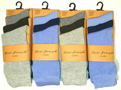3 New Pairs Men's Business Executive Everyday Socks Size 6-11 Weekday Smart