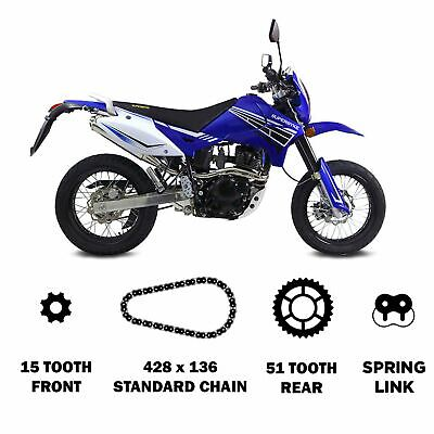 428-122 Motorcycle Drive Chain Superbyke RSR 125