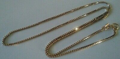 1.7 grams Figaro Link 9ct Solid Gold Anklet Fully Hallmarked /& Boxed *
