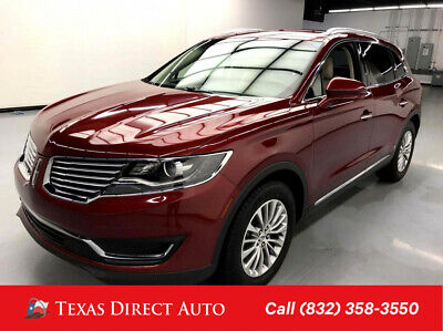 2018 Lincoln MKX Select Texas Direct Auto 2018 Select Used 3.7L V6 24V Automatic FWD SUV