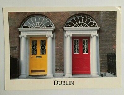 Irish Postcard,Georgian Doors,Dublin,Ireland