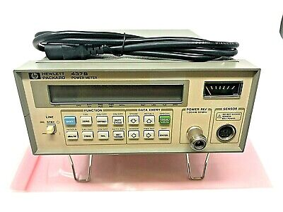HP Agilent 437B Power Meter ~ Tested with 60 Day Warranty!