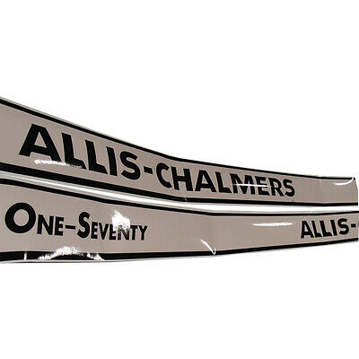 New Hood Decal Set for Allis Chalmers Tractor