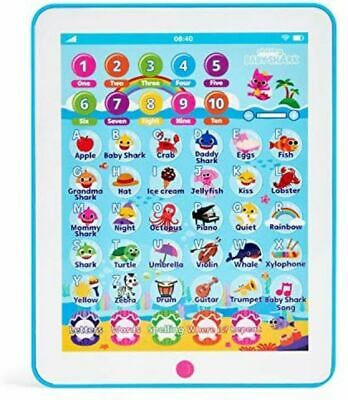 Pinkfong Baby Shark Kids Ipad Song Tablet Toddler Educational Child Toy