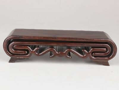 Advanced Chinese Wood Snuff Bottle Shows Base Stand Bracket Handicraft Collect