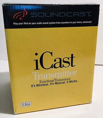 SoundCast iCast Transmitter: 30-pin transmit to Outcast or stereo (ICT 111)