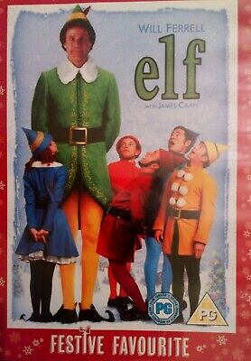 Elf: Classic Childrens Family Christmas Movie New DVD, Will Ferrell James Caan