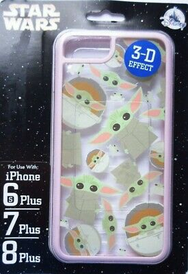 Disney Parks Star Wars Baby Yoda Phone Case iPhone 6s 7 8 Plus Millennial Pink