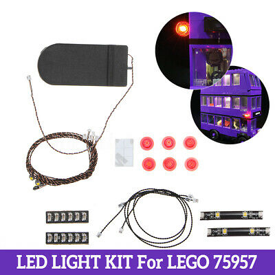 LED Light Up Kit For LEGO 75957 The Knight Bus Lighting Set Building Kit 5V