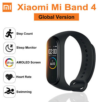 Original Xiaomi Mi Band 4 Global Version Color Screen Fitness Tracker Armband