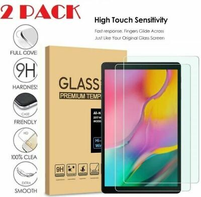 2 xPack_Genuine Tempered Glass screen Protector For Apple iPad & Samsung Tablets