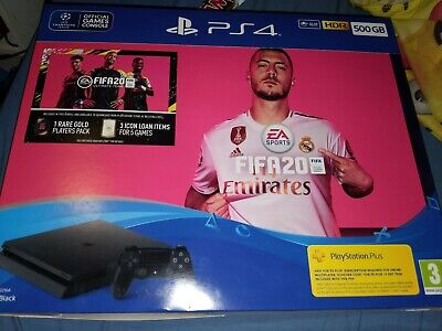 PS4 500gb Slim FIFA 20 Bundle | Brand New and Factory Sealed