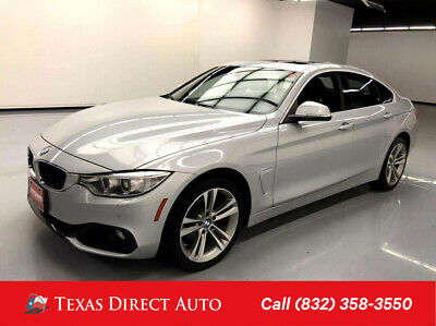 2016 BMW 4-Series 428i xDrive Texas Direct Auto 2016 428i xDrive Used Turbo 2L I4 16V Automatic AWD Hatchback