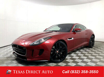 2017 Jaguar F-Type S Auto Texas Direct Auto 2017 S Auto Used 3L V6 24V Automatic RWD Coupe Premium