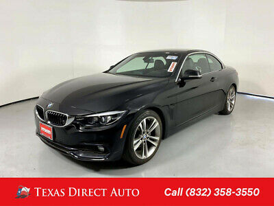 2019 BMW 4-Series 430i Texas Direct Auto 2019 430i Used Turbo 2L I4 16V Automatic RWD Convertible