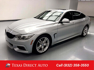 2017 BMW 4-Series 430i Texas Direct Auto 2017 430i Used Turbo 2L I4 16V Automatic RWD Hatchback Premium