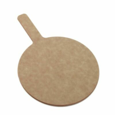 American Metalcraft MP1217 Round Pressed Board Pizza Peel with Handle