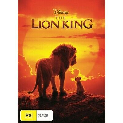 The Lion King (DVD, 2019) NEW  & Sealed! Region 4