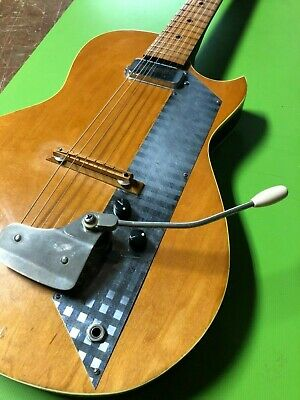 Shapely Blond - 1960's. Old Kraftsman LP style elec. guitar - PRICE CUT!!!