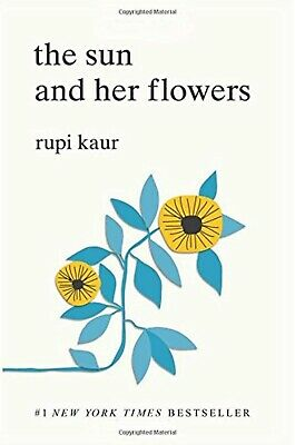 The Sun and Her Flowers Paperback Book English First Edition by Rupi Kaur