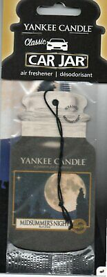 Yankee Candle - Car Air Freshener - Midsummer's Night           *New And Sealed*