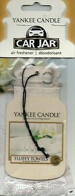 Yankee Candle - Car Air Freshener - Fluffy Towels               *New And Sealed*