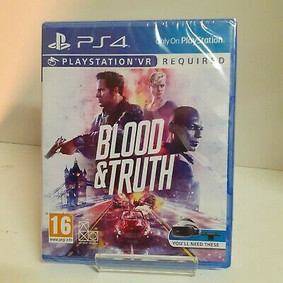 Blood And & Truth VR PS4 Playstation 4 Game - New & Sealed Fast & Free Delivery