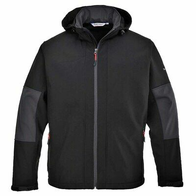 sUw - Mens Breathable Waterproof Softshell With Detachable Hood (3L)