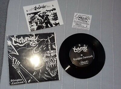 Nocturnal - Slaughter Command 7'' EP Ltd to 720 copies RARE!