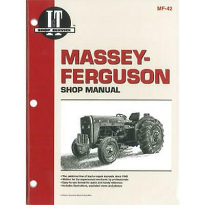 SHOP MANUAL Massey Ferguson MF230 MF235 MF240 MF245 MF250 Tractor