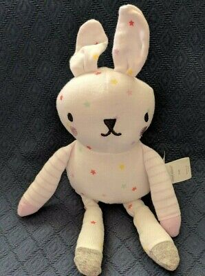 New CLOUD ISLAND Star Bunny Rabbit Lovey Baby Security Plush Replacement 11""