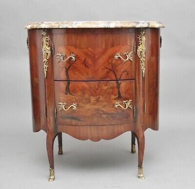 Early 19th Century French marquetry cabinet