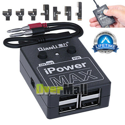 iPower Pro DC Power Supply Test Cable with Switch iPhone XS X 8 7Plus 7 6 Repair
