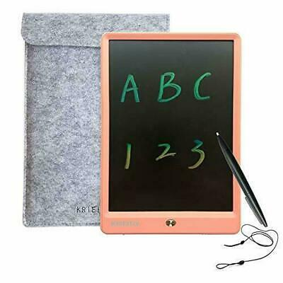 KRIEITIV LCD Writing Tablet 10 inch Colour 10 inch, Pink 10 colorful