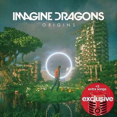 Imagine Dragons Origins CD SEALED New *SLIGHTLY CRACKED CASE* TARGET + 3 Songs