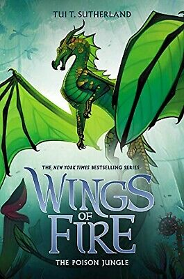 Wings of Fire The Poison Jungle by Tui T. Sutherland Hardcover English Book 13