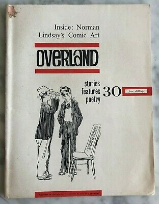 1964 1st OVERLAND, NORMAN LINDSAY w cover & 7 illustrations by Norman Lindsay