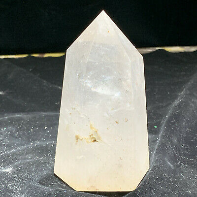 685g Natural White Crystal Quartz Magic Wand Column Point Reiki Healing FLPX
