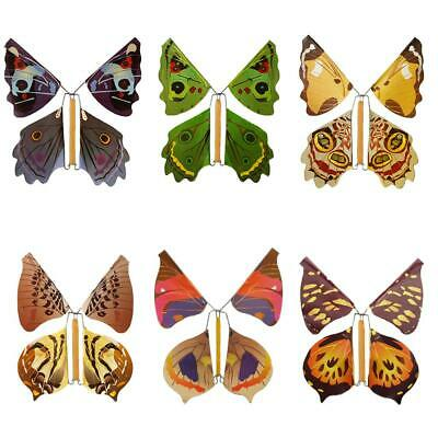 1Pcs Magic Creative Flying Butterfly Change From Empty Hands Trick Prop Toy Game