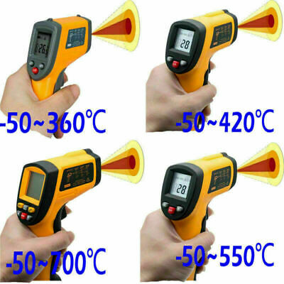 Handheld LCD Digital IR Laser Infrared Non-Contact Thermometer Temperature Gun