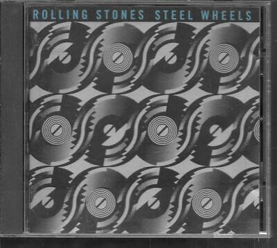 Cd Album 12 Titres--The Rolling Stones--Steel Wheels--1989