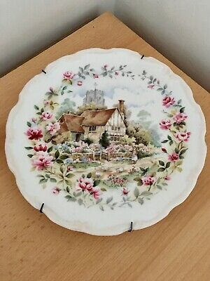 Royal Albert Bone China Summer Plate Cottage Garden Collection 1984