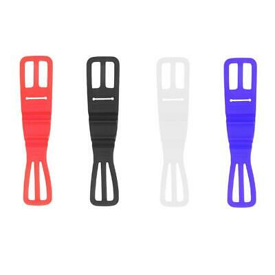 Universal Silicon Strap Mountain Road Bike Torch Phone Flashlight Bands WT7n