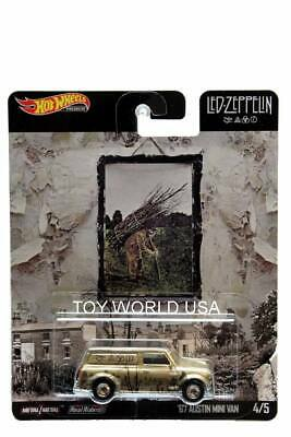 2019 Hot Wheels Pop Culture Led-Zeppelin #4 '67 Austin Mini Van